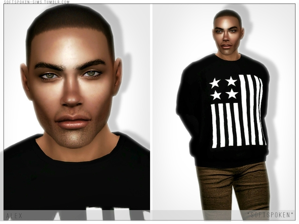 Alex by Softspoken at TSR image 1028 Sims 4 Updates