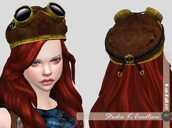 Aviator hat at Studio K Creation image 1031 670x502 Sims 4 Updates