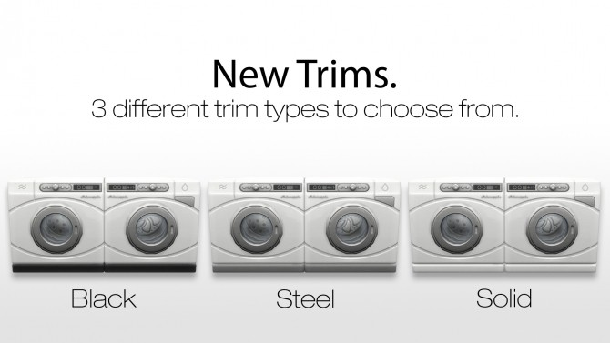 Sims 4 Washer & Dryer Overhaul by New Era at Mod The Sims