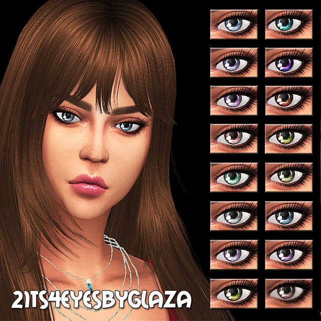 Eyes #21 at All by Glaza image 1039 Sims 4 Updates