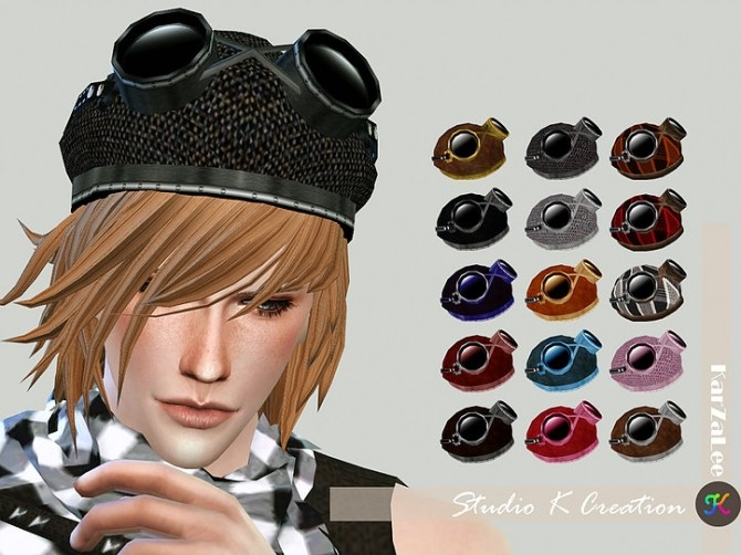 Aviator hat at Studio K Creation image 1041 670x502 Sims 4 Updates