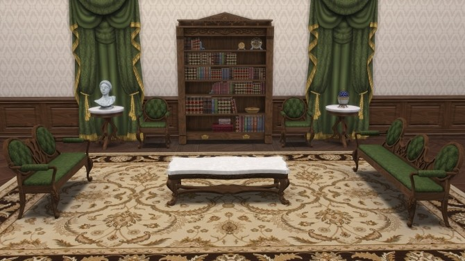 Sims 4 Victorian Set from TS3 by TheJim07 at Mod The Sims