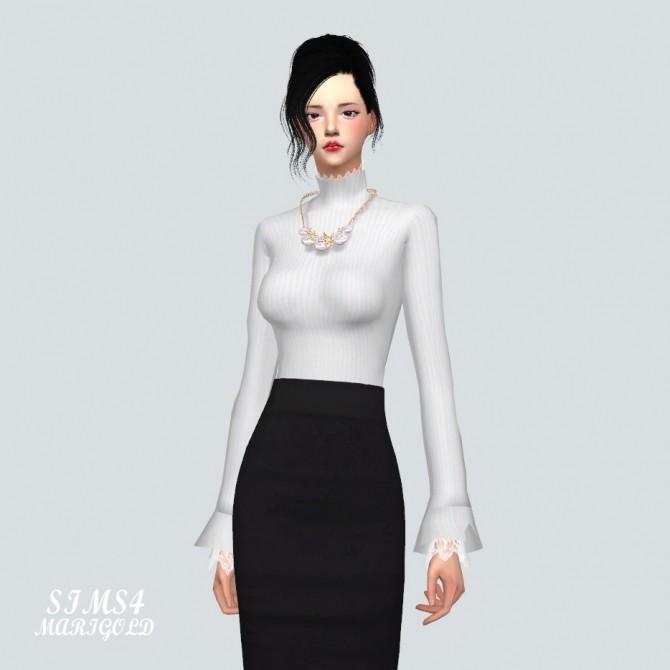 Lace Turtleneck at Marigold image 10510 670x670 Sims 4 Updates