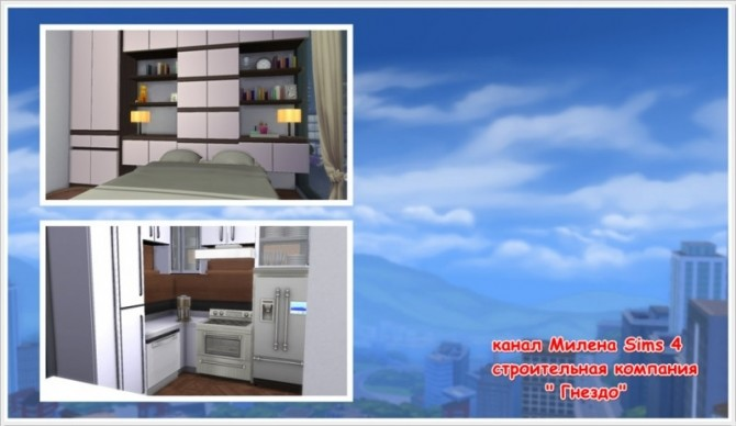 Sims 4 Chic 21 1312 Apartment at Sims by Mulena