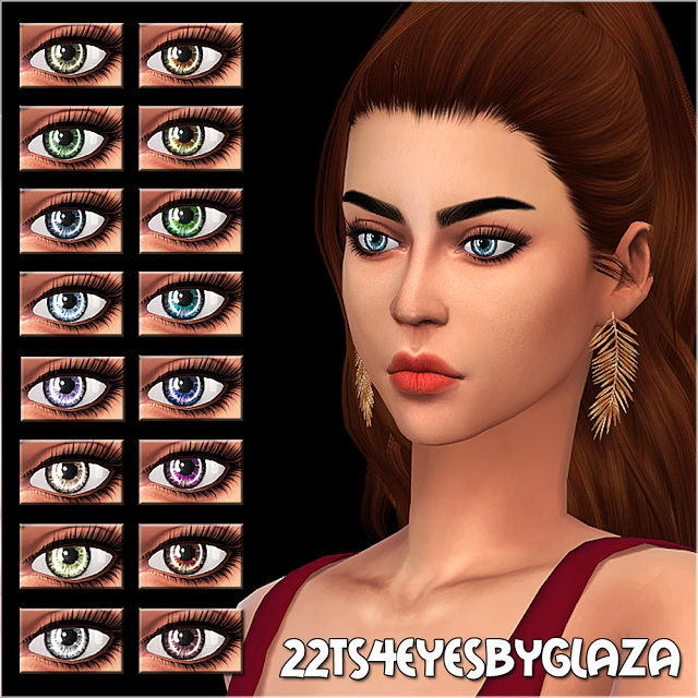 Eyes #22 at All by Glaza image 1059 Sims 4 Updates