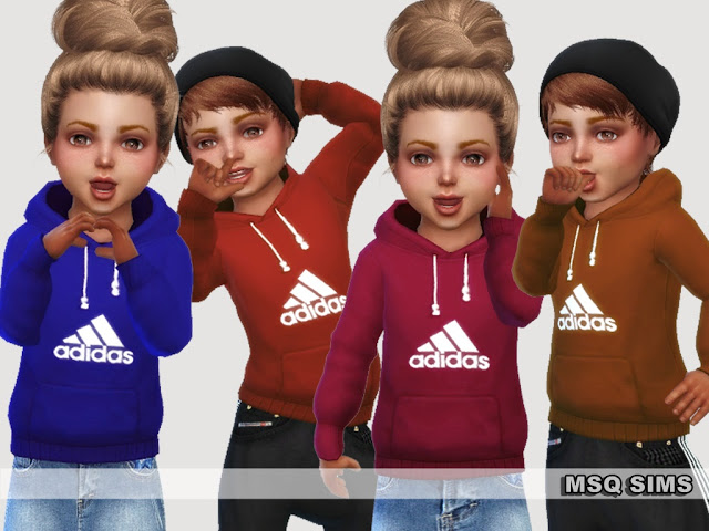 Hoddies For Toddlers at MSQ Sims image 107 Sims 4 Updates