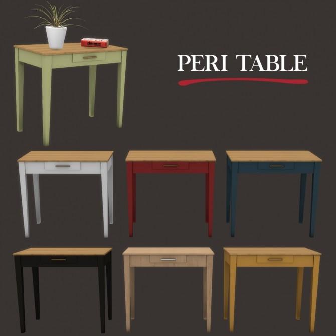 Sims 4 Peri Table at Leo Sims