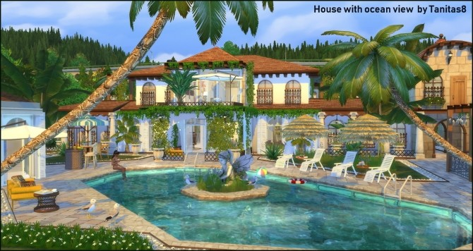 House with ocean view at Tanitas8 Sims image 1078 670x356 Sims 4 Updates