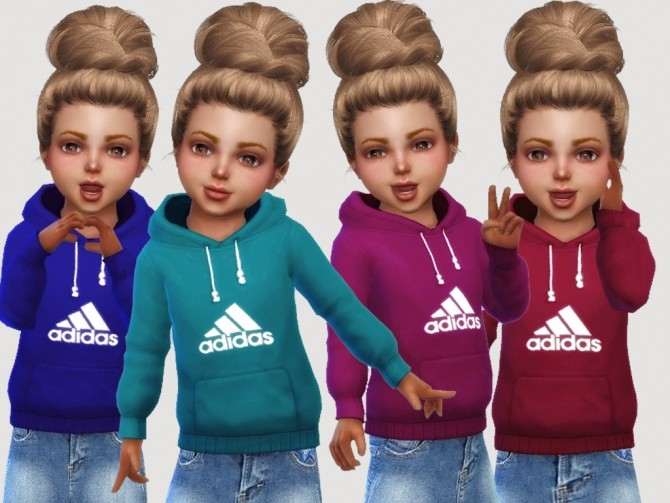 Hoddies For Toddlers at MSQ Sims image 108 670x503 Sims 4 Updates