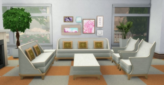 The Perma Living Set by AdonisPluto at Mod The Sims image 10911 670x350 Sims 4 Updates