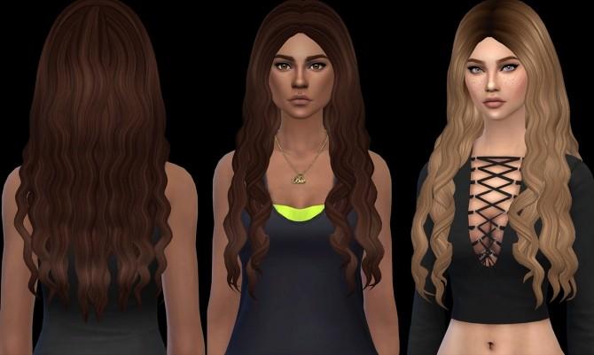 Sims 4 April Hair at Leo Sims