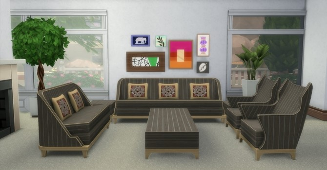 The Perma Living Set by AdonisPluto at Mod The Sims image 11015 670x350 Sims 4 Updates