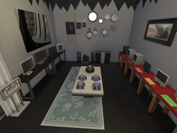 Crescent Mall ( No CC) by Mini Simmer at TSR image 1110 Sims 4 Updates