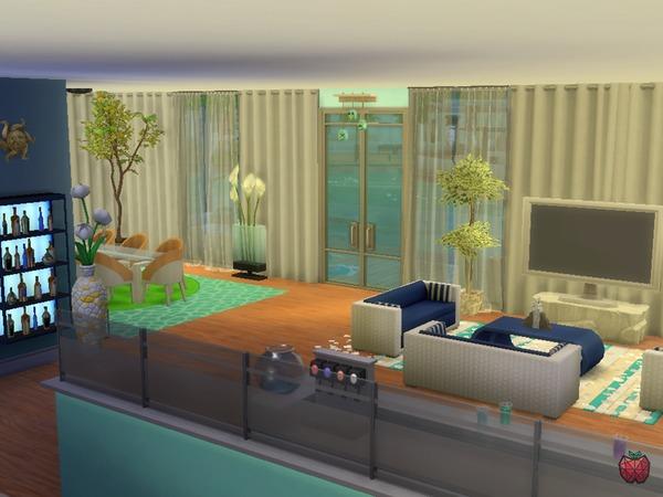 Sims 4 Larissa house by melapples at TSR