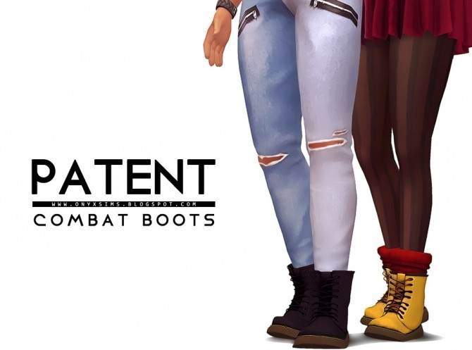 Patent Combat Boot at Onyx Sims image 11212 670x497 Sims 4 Updates