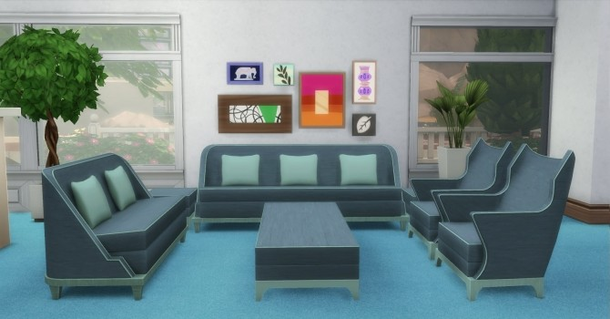 The Perma Living Set by AdonisPluto at Mod The Sims image 11213 670x350 Sims 4 Updates