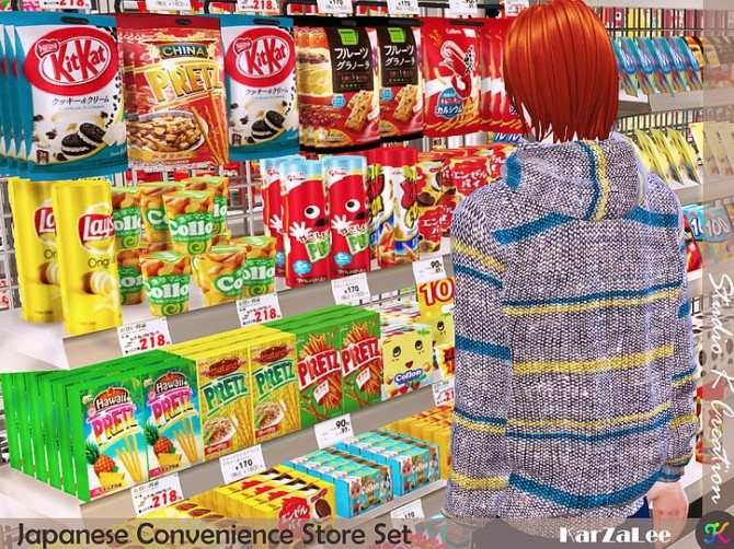 Japanese Convenience Store Set at Studio K Creation image 11216 670x502 Sims 4 Updates