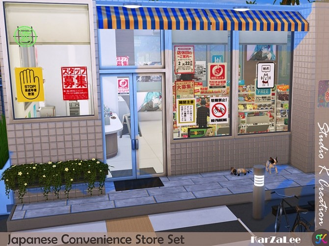 Japanese Convenience Store Set at Studio K Creation image 11314 670x502 Sims 4 Updates