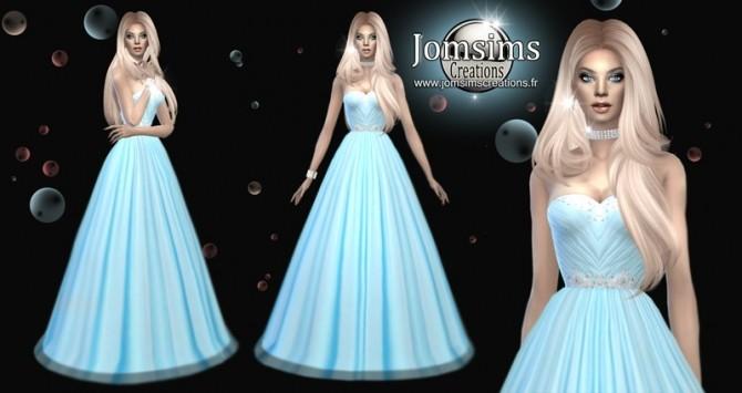 Sims 4 Avess dress at Jomsims Creations