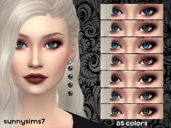 Eye set by SunnySims7 at TSR image 1139 Sims 4 Updates