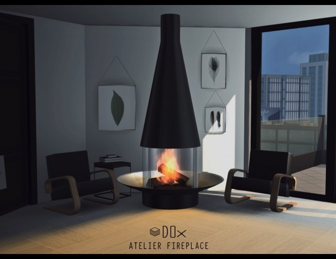 Luxury Fireplace Trio (P) at DOX image 1144 670x517 Sims 4 Updates
