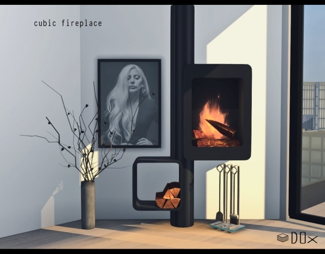 Luxury Fireplace Trio (P) at DOX image 1154 670x523 Sims 4 Updates