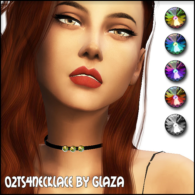 Sims 4 Necklace #02 at All by Glaza