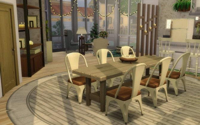 Bohemian Challenge house by Bloup at Sims Artists image 1168 670x419 Sims 4 Updates