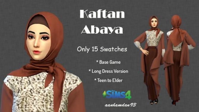 Hijab Model043 & Kaftan Abaya at Aan Hamdan Simmer93 image 1171 670x377 Sims 4 Updates