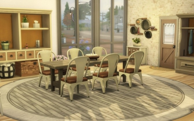 Bohemian Challenge house by Bloup at Sims Artists image 1177 670x419 Sims 4 Updates