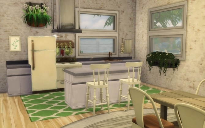 Bohemian Challenge house by Bloup at Sims Artists image 1187 670x419 Sims 4 Updates