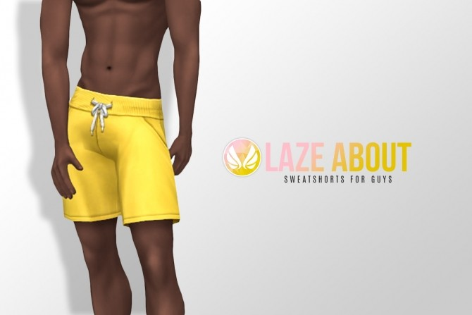 Laze About Sweatshorts for him at Simsational Designs image 1193 670x447 Sims 4 Updates