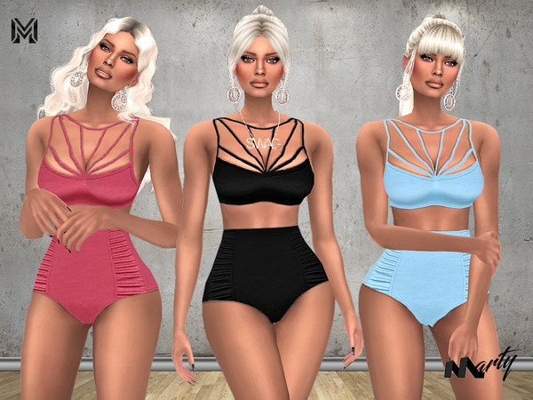 MP Adore Me Swimsuit by MartyP at TSR image 1205 Sims 4 Updates