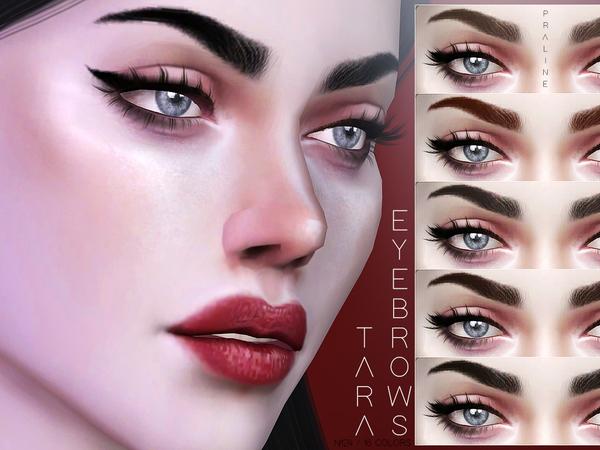 Tara Eyebrows N124 by Pralinesims at TSR image 1210 Sims 4 Updates