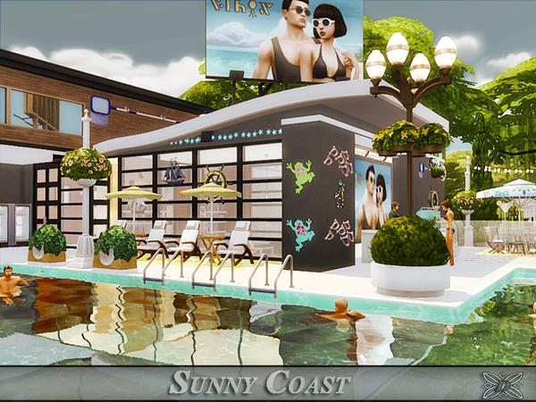 Sims 4 Sunny Coast house by Danuta720 at TSR