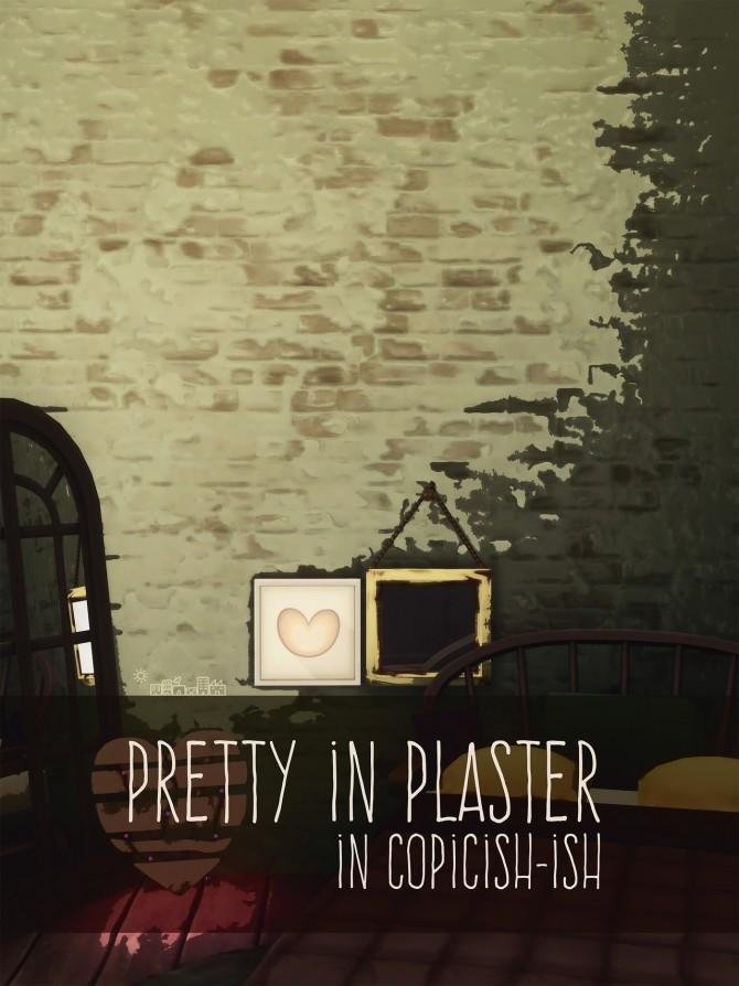 PRETTY IN PLASTER wall at Picture Amoebae image 12214 670x894 Sims 4 Updates