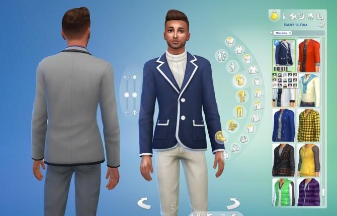 Sims 4 Jacket Blazer Conversion at My Stuff