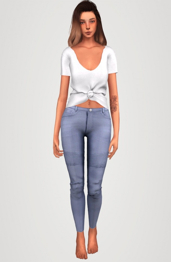 Everyday clothing collection part 3 at Elliesimple image 1238 656x1000 Sims 4 Updates