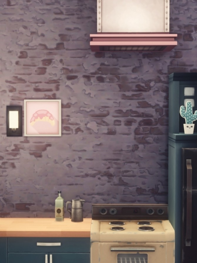 PRETTY IN PLASTER wall at Picture Amoebae image 12413 670x894 Sims 4 Updates