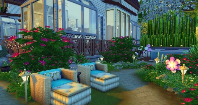 Amanda house by Angerouge at Studio Sims Creation image 1243 670x355 Sims 4 Updates