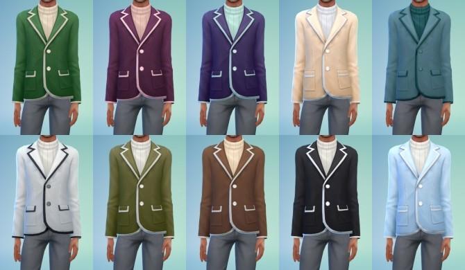 Jacket Blazer Conversion at My Stuff image 1247 670x390 Sims 4 Updates