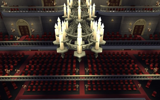 Sims 4 The Paris Opera House by catdenny at Mod The Sims