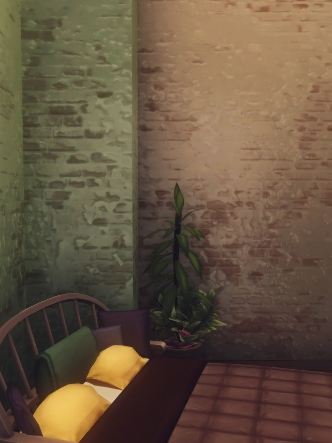 PRETTY IN PLASTER wall at Picture Amoebae image 12513 670x894 Sims 4 Updates