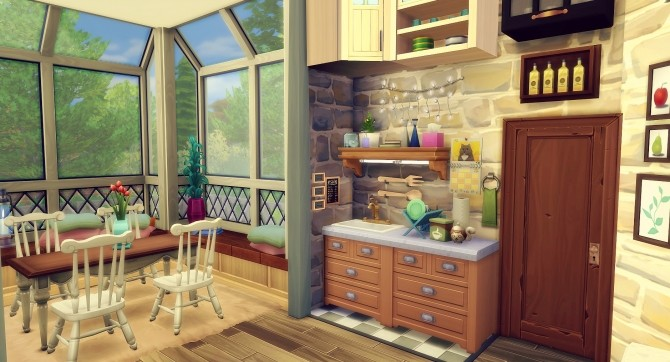 Amanda house by Angerouge at Studio Sims Creation image 1253 670x362 Sims 4 Updates