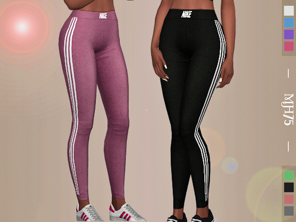 Sport Leggings By Margeh 75 At Tsr 187 Sims 4 Updates