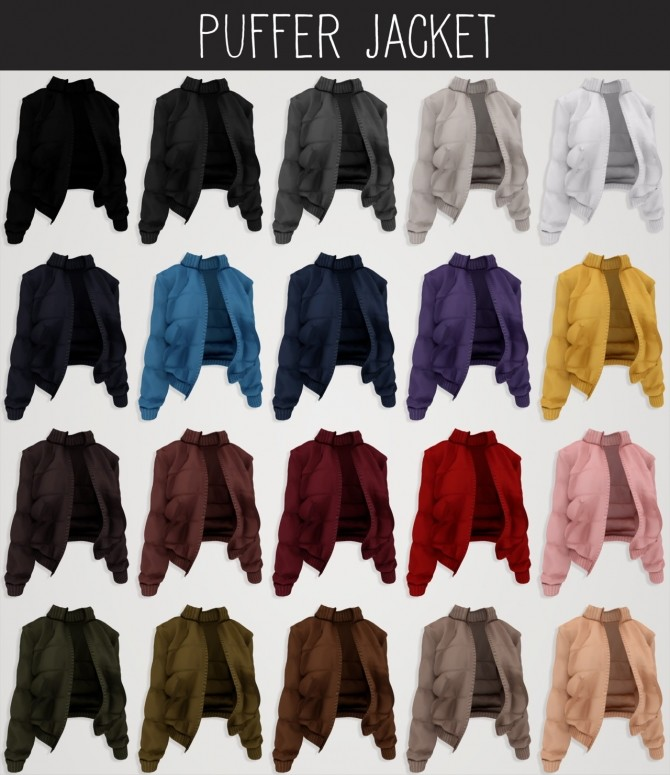 Everyday clothing collection part 3 at Elliesimple image 1258 670x775 Sims 4 Updates