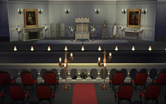 The Paris Opera House By Catdenny At Mod The Sims 187 Sims 4