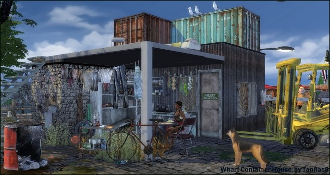 Whiskerman Wharf Container House starter home at Tanitas8 Sims image 12714 670x356 Sims 4 Updates