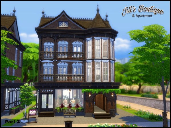 Sims 4 Jills Boutique by sparky at TSR