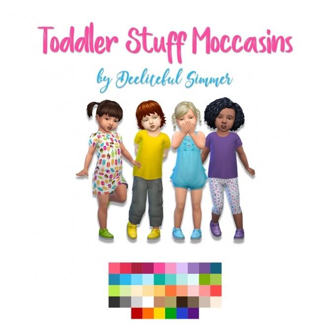 Sims 4 Toddler stuff moccasins at Deeliteful Simmer